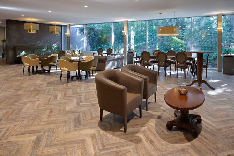 Herringbone Project floors
