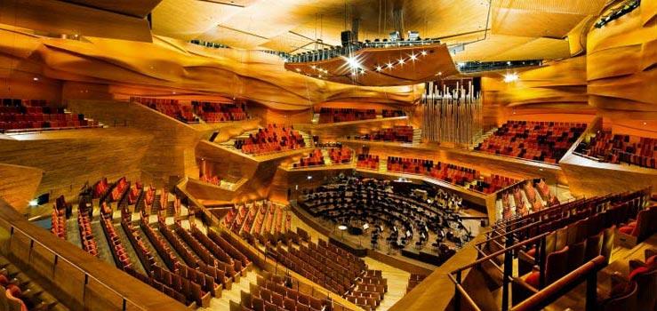 Salas de conciertos Lindner group